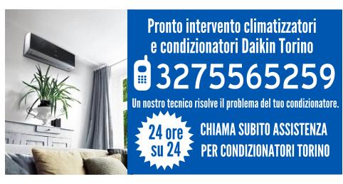 Pronto intervento climatizzatori e condizionatori Daikin Torino