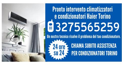 Pronto intervento climatizzatori e condizionatori Haier Torino