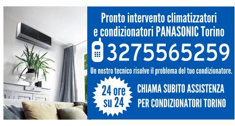 Pronto intervento climatizzatori e condizionatori PANASONIC Torino